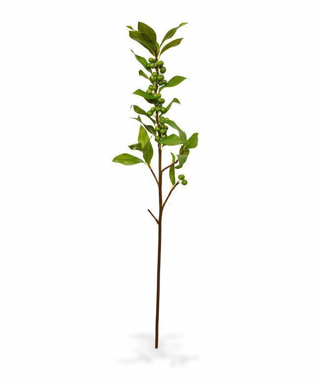 Branche artificielle de Houx 75 cm