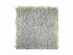 Panneau argent artificiel Calocephalus - 50x50 cm