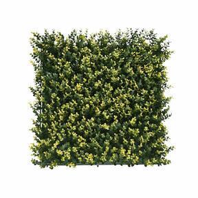 Panneau artificiel Buxus - 50x50 cm