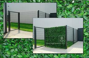 Panneau de feuilles artificielles Cerisier - 50x50cm