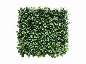Panneau de feuilles artificielles Gardenia - 50x50 cm