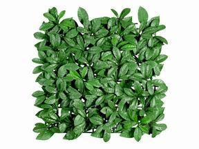 Panneau de feuilles artificielles Laurier - 50x50 cm