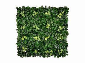 Panneau de feuilles artificielles Lierre - 50x50 cm