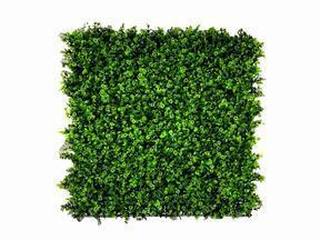 Panneau de feuilles artificielles Trèfle - 50x50 cm