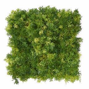 Panneau de mousse artificielle vert clair - 25x25 cm