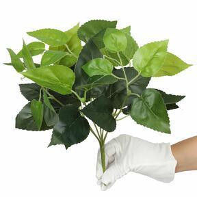 Plante artificielle Basilic vert 25 cm
