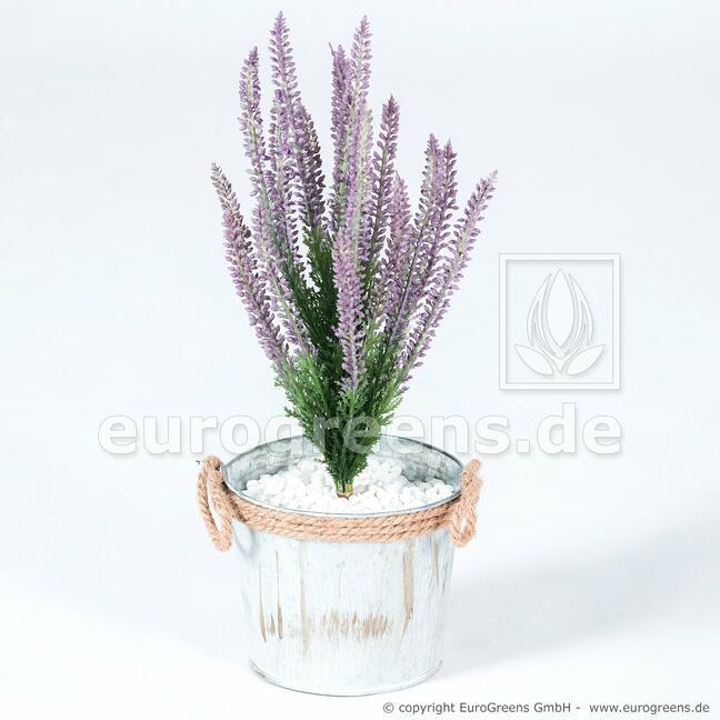 Plante artificielle Bruyère violet 38 cm