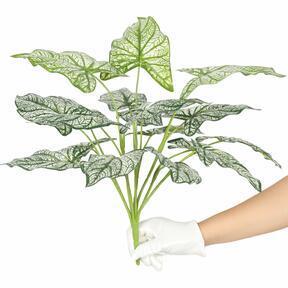 Plante artificielle Calladium bicolore 50 cm
