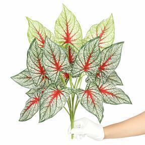 Plante artificielle Calladium multicolore 50 cm