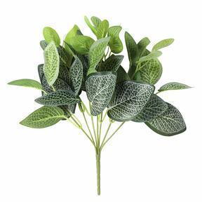 Plante artificielle Fitónia blanc 25 cm