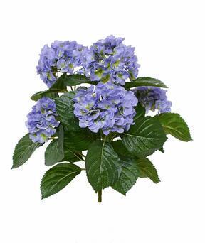 Plante artificielle Hortensia bleu 40 cm