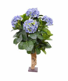 Plante artificielle Hortensia bleu 65 cm