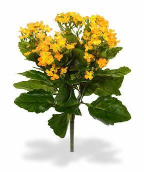 Plante artificielle Kalanchoa orange 30 cm