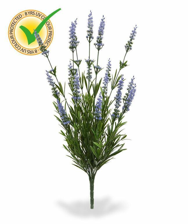 Plante artificielle Lavande bleue 50 cm