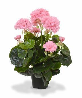 Plante artificielle Pakost rose 40 cm