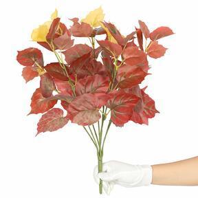 Plante artificielle Pavinič rouge 45 cm