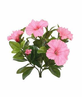 Plante artificielle Pétunia rose 25 cm