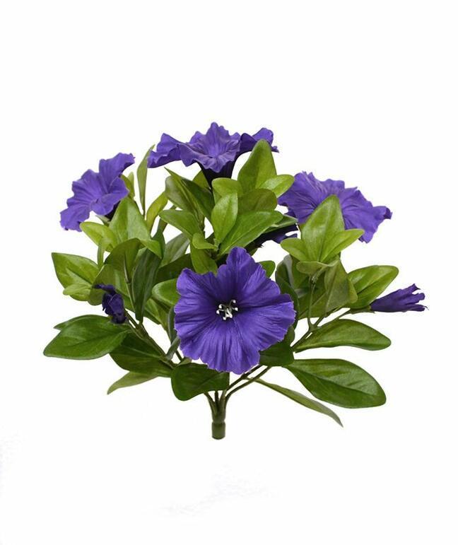 Plante artificielle Pétunia violet 25 cm