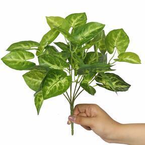 Plante artificielle Taro Araceae 25 cm