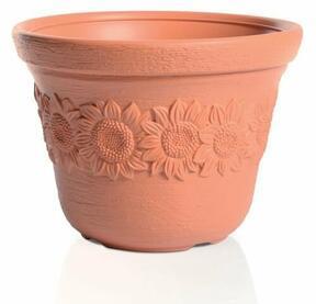 Pot de fleurs SUNNY brique 57cm