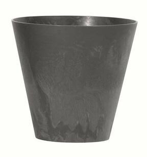 Pot de fleurs TUBUS EFFECT anthracite 40 cm