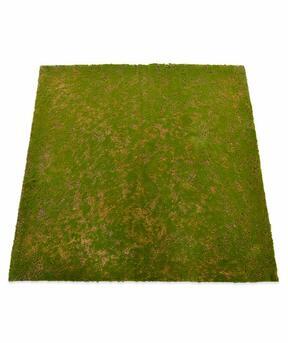 Tapis de mousse artificielle 100 x 100 cm - vert
