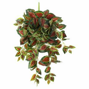 Vrille artificielle Basilic rouge 80 cm