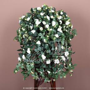 Vrille artificielle Rose blanc 70 cm