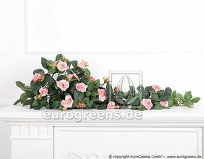 Vrille artificielle Rose rose 70 cm